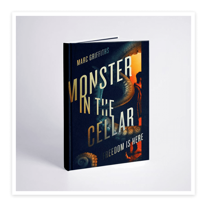 Inspirational Family Book - Monster In the Cellar Book